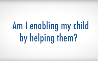 Am I Enabling My Child by Helping Them?